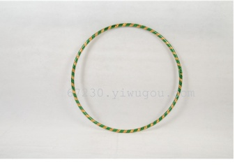 Plastic pipe two-color laser child Hula Hoop