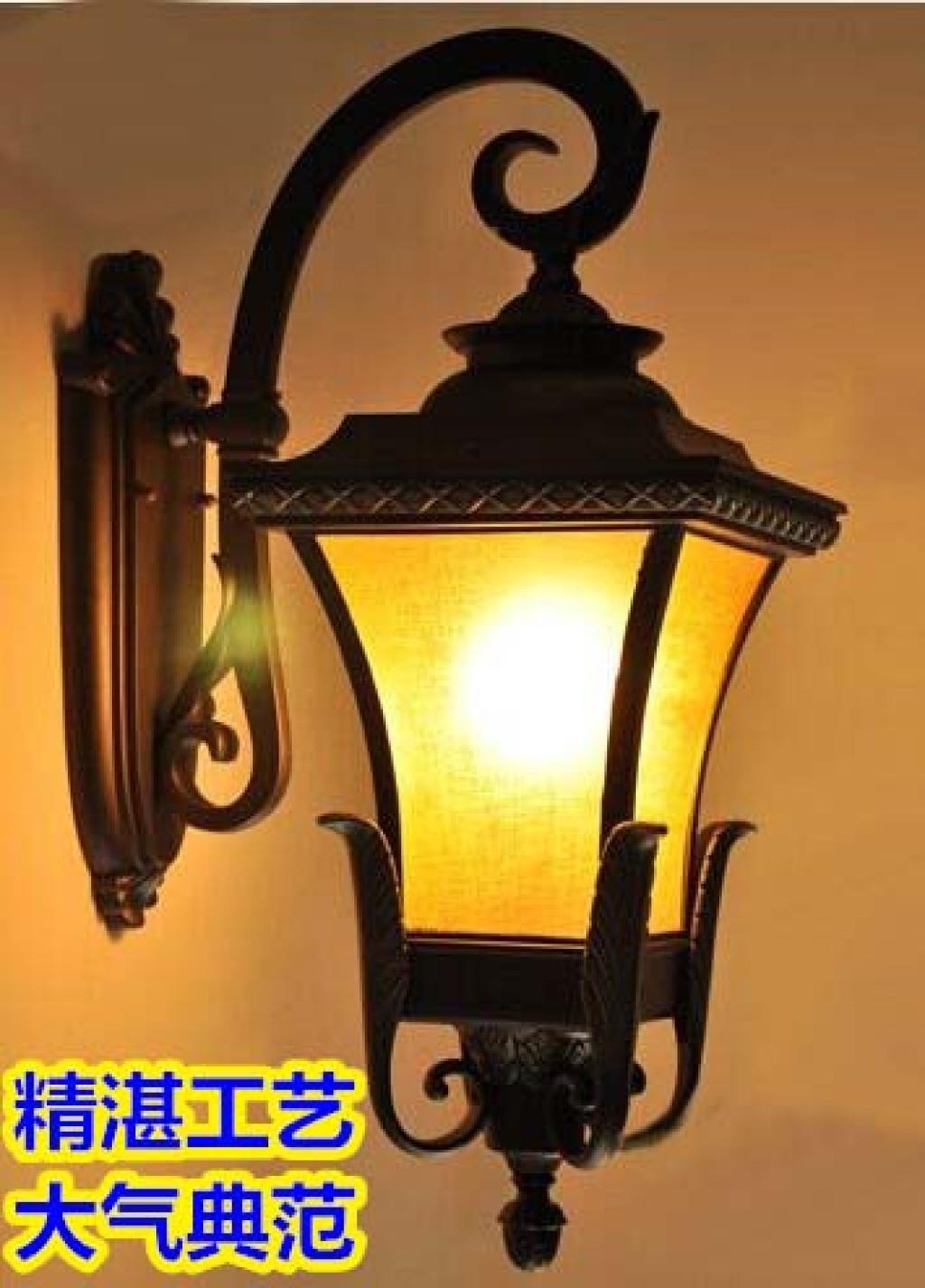 欧式户外凤凰壁灯别墅庭院楼梯阳台露台酒店防雨壁灯欧美奢华壁灯