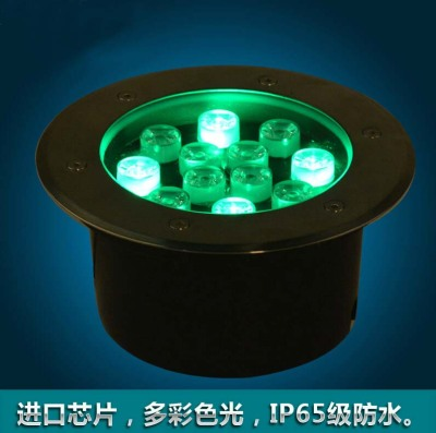 LED buried lights waterproof outdoor lawn light landscape color LED underground lamp