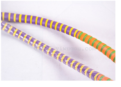 Increased iron bicolor sponge Hula Hoop