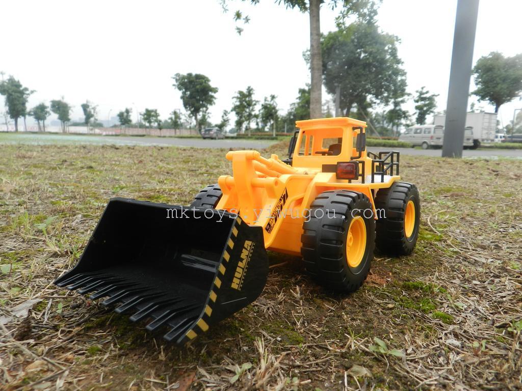 大号儿童工程车遥控挖土机挖掘机铲车儿童沙滩玩具32
