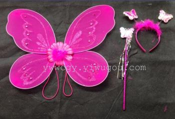 New stocking butterfly wings single storey three-set factory outlet