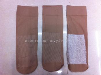 Socks cotton tube socks velvet short stockings in the fall/winter women massage warm thick stockings at the end of 2015, new