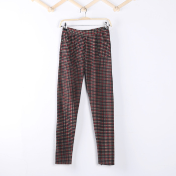 2015 spring new Korean version flows Footless women stretch feet pencil pants pants pants