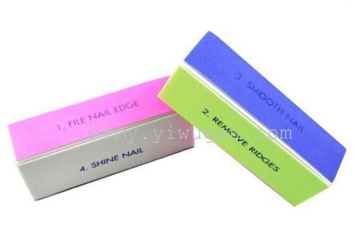 Manicure tools Manicure tofu wholesale Manicure special polishing block