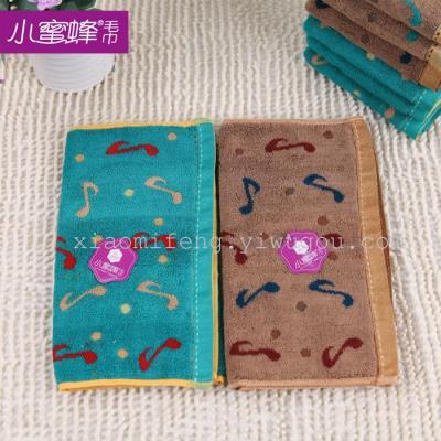 Children towel towel cotton towel note cartoon bee towels towel 9982