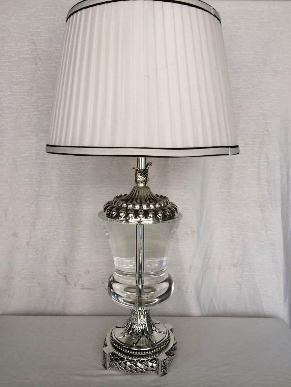 欧式台灯 奢华装饰美式水晶台灯