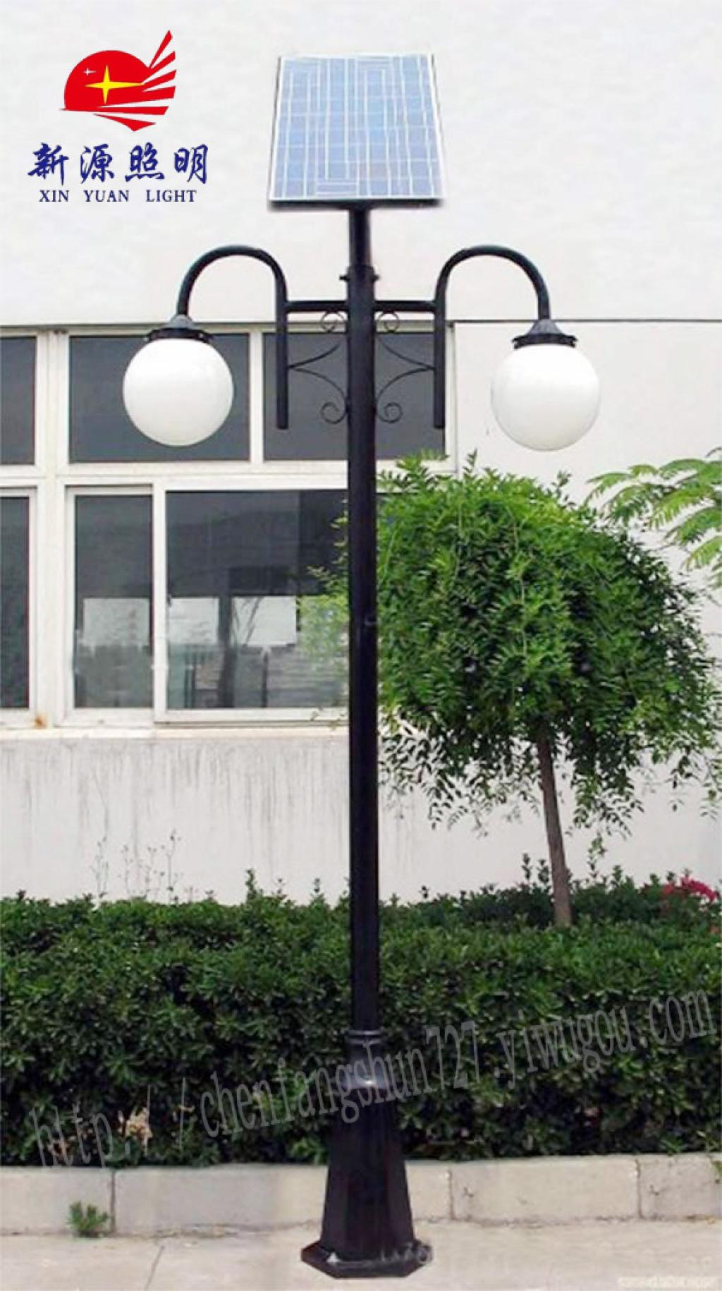 太阳能led景观庭院灯欧式户外庭院灯街道路灯美观