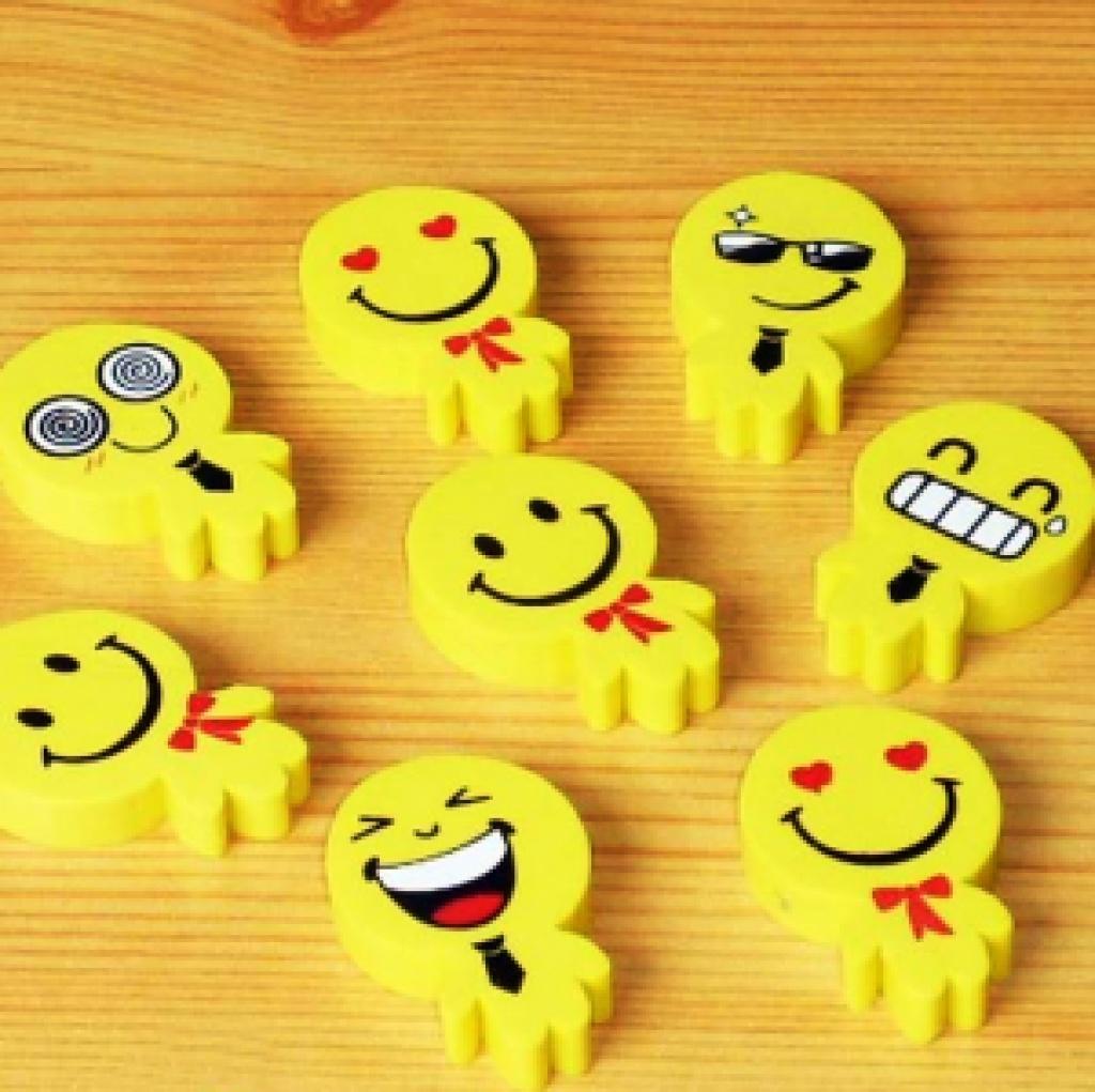 可爱笑脸 表情 小人