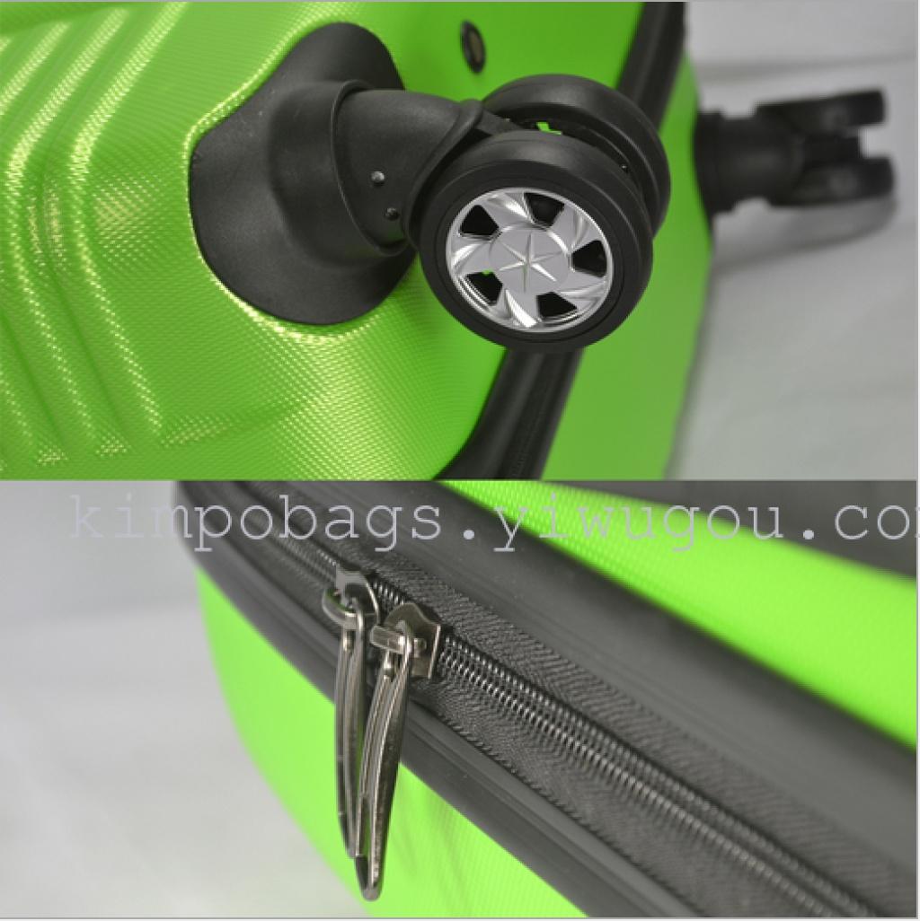 厂家直销ABS拉杆箱旅行箱托运箱外贸厂家出口行李箱三件套