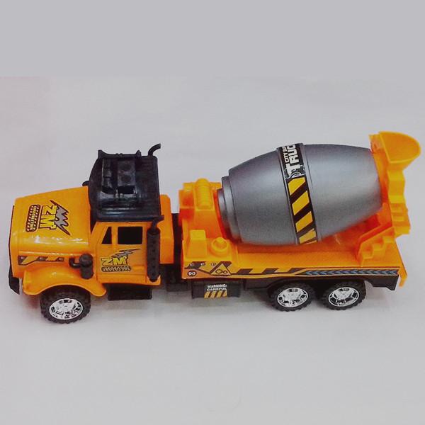 袋装儿童玩具惯性环保塑料益智玩具搅拌水泥工程车