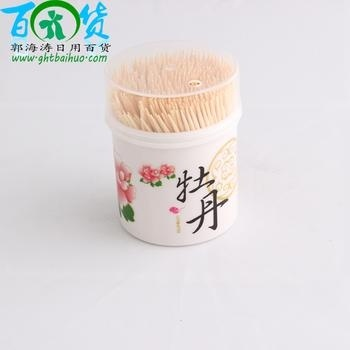 Peony toothpick bamboo toothpicks in 2 dollar store merchandise daily peonies toothpick bottle