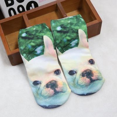 Dye sublimation printing custom socks cartoon socks socks digital machining straight boat socks