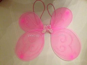 Factory direct wholesale COSPLAY pantyhose pink butterfly wings