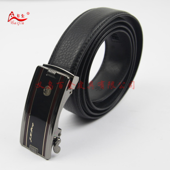 Golden Crown-ping half wear automatic automatic buckle buckle leather business men of genuine