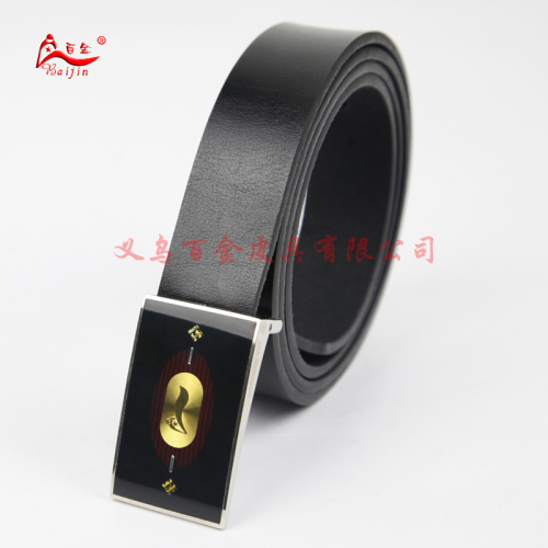 Pure retro plate buckle leather, genuine leather belt male Korean leisure belts fashion