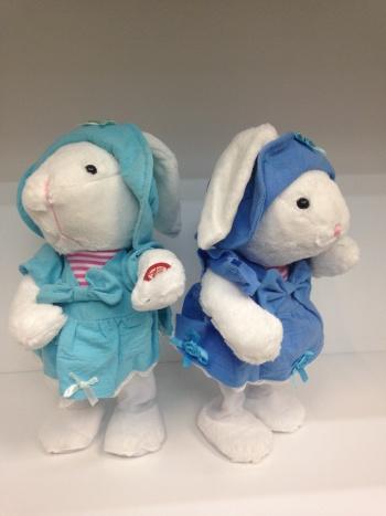 萌呆可爱唱歌小白兔