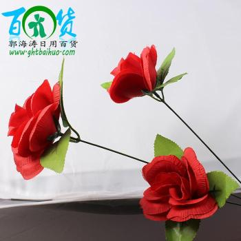 sale artificial flowers rose rose interior decoration ornaments placed bedroom flower vase of flowers