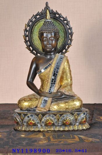 Southeast Asia-style arts and crafts Clubhouse bar and restaurant accessories Buddha craft ornaments