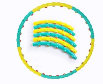 Hula Hula Rainbow ball massage Hula Hoop weight detachable waist add Hula Hoop