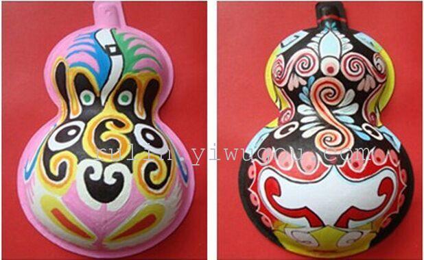 马勺葫芦纸浆面具图片展示