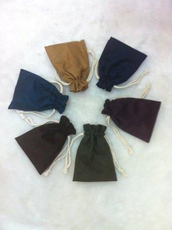 Disc play wenwan flannel bags bracelets bundle of cotton linen bag suede bag Pearl Jewelry wholesale
