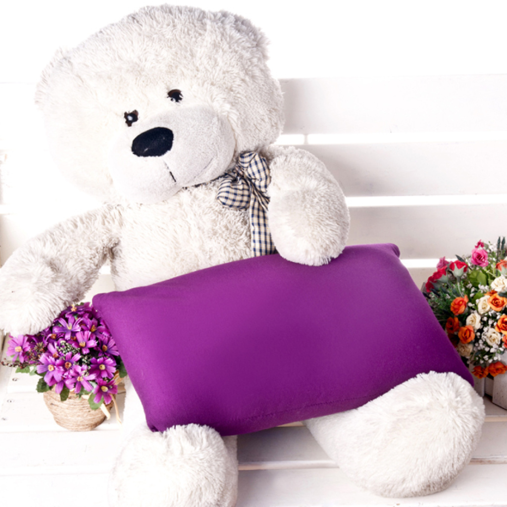 纯色泡沫亲子抱枕靠垫布娃制抱枕午休可爱冬季生日卡通生日礼物