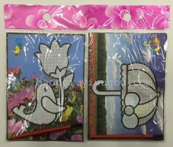 儿童水画无需颜料用水作画 水彩画手绘画玩具涂色画 批发特价