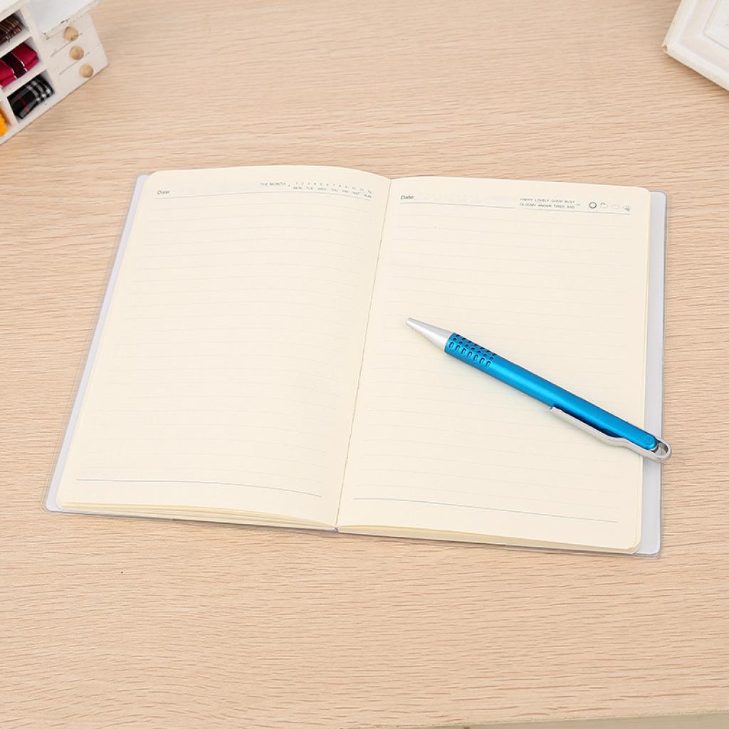青春时尚可爱 笑脸封面笔记本32开糖果色学生本色彩绚丽记事本