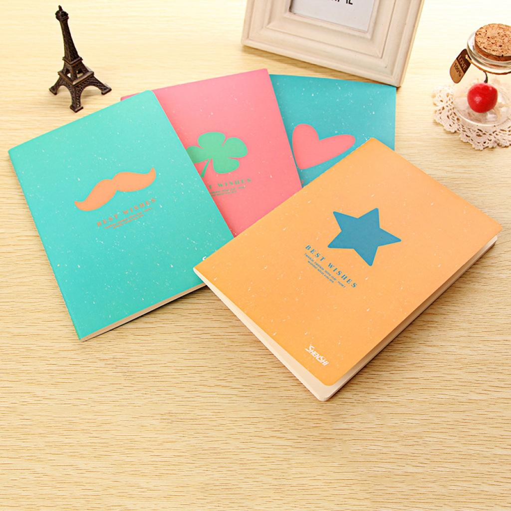 创意糖果色简约时尚青春可爱封面笔记本32开精品系列