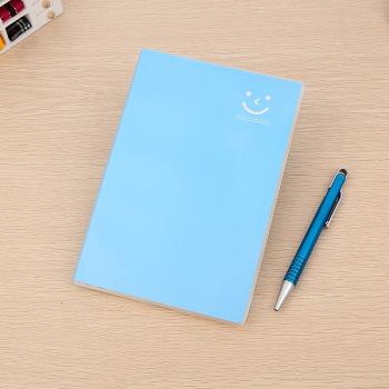 青春时尚可爱 笑脸封面笔记本32开糖果色学生本色彩