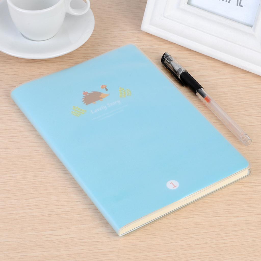 可爱卡通幸福故事小松鼠胶套记事本