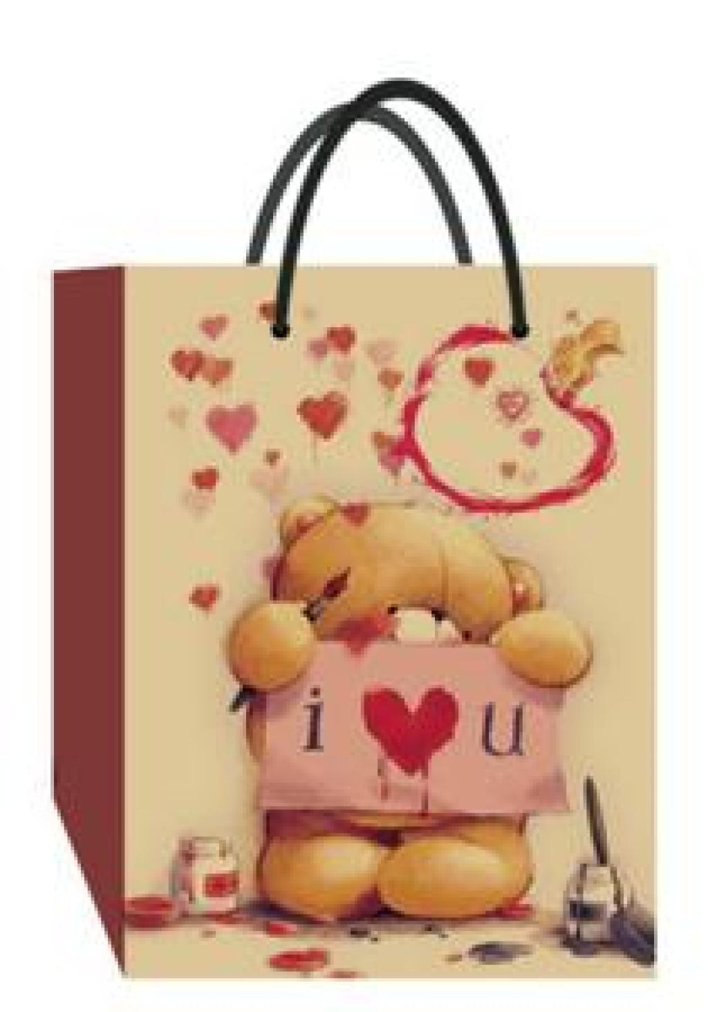 可爱小熊纸袋图片大全