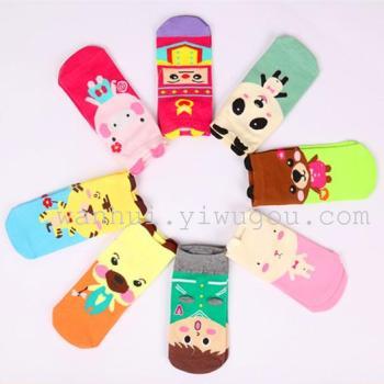 Kawaii cute cotton short socks boat socks short Korean spring stockings wholesale