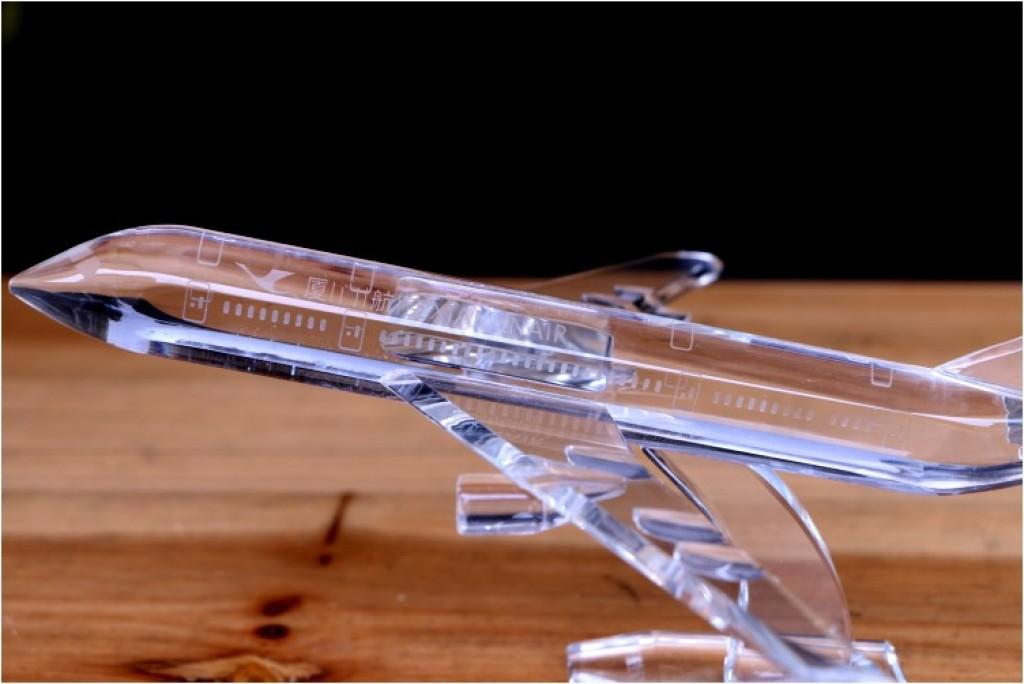 水晶飞机 厦门航空水晶飞机