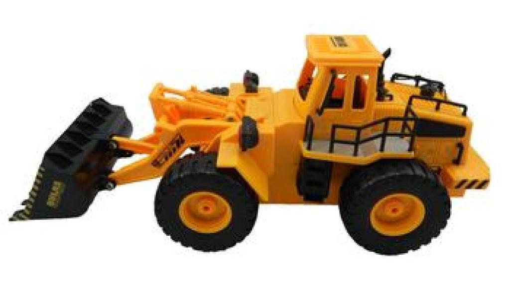 大号儿童工程车,遥控挖土机挖掘机铲车儿童沙滩玩具320图片
