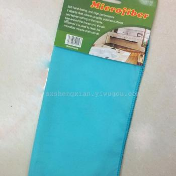 Warp knitted suede Microfiber towel fabric cloth