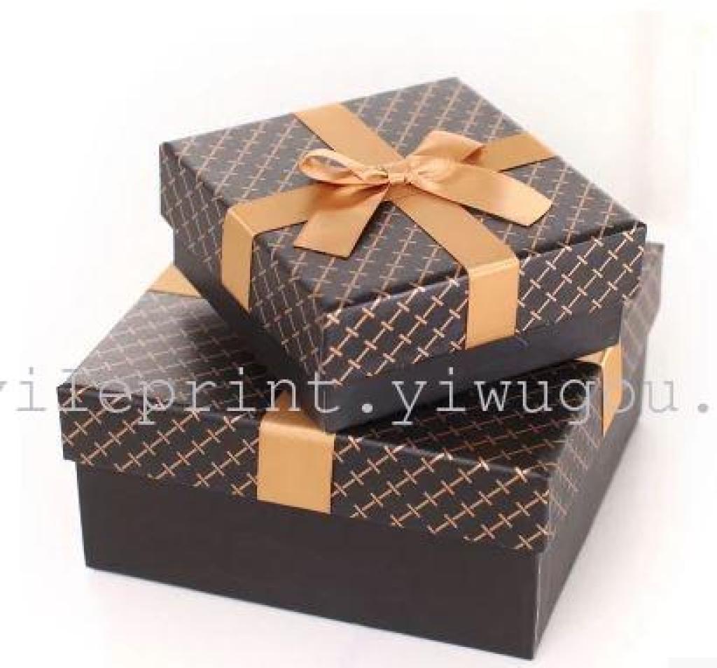 韩国正方形礼品盒 高档礼物包装盒纸盒