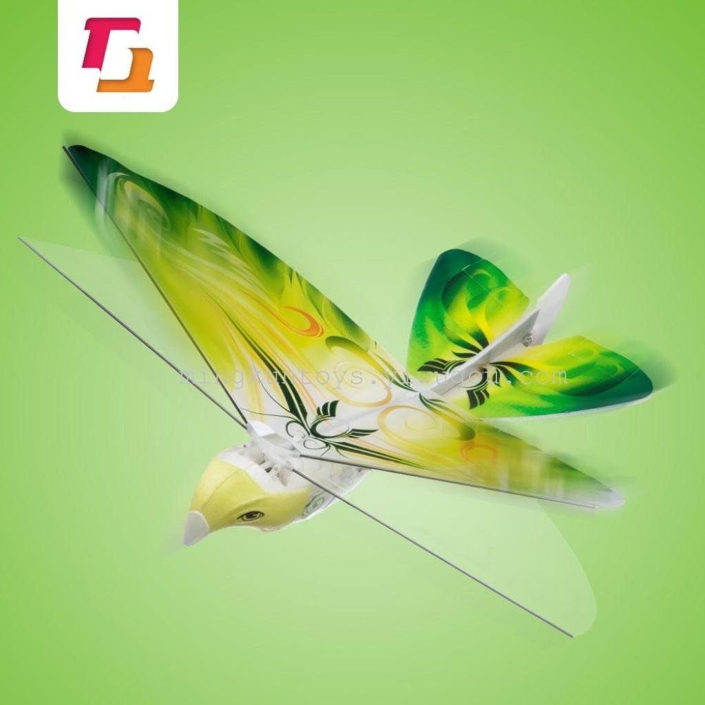 4g遥控飞机扑翼鸟遥控玩具遥控飞行-四色混装
