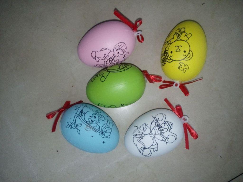 复活节彩蛋 手绘diy蛋
