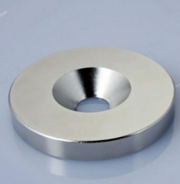 Factory direct magnets 10*2.8mm hole 3mm galvanized magnet