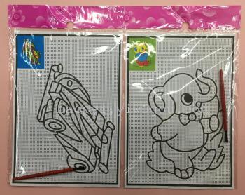 儿童水画无需颜料用水作画 水彩画手绘画玩具涂色画