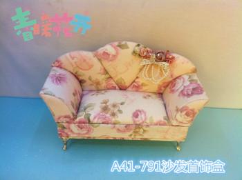 Korean version of little Princess sofa jewelry box fresh birthday Valentine's day wedding gifts