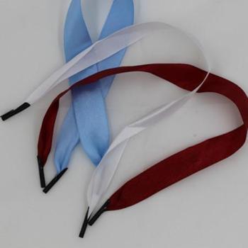 供应缎带打头加工 织带手提绳 丝带 绸带 彩带手提袋用绳