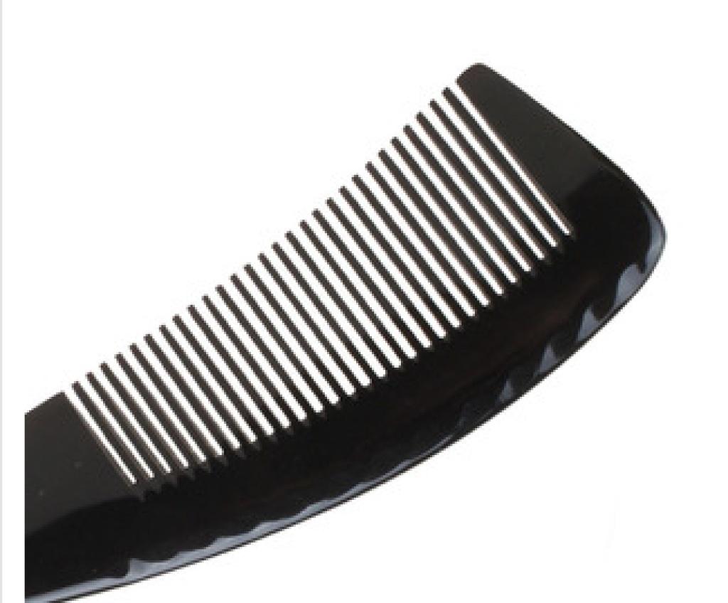 工艺理发店塑料梳子牛角