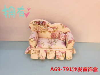 Little Korean Princess sofa jewelry box fresh Valentines wedding birthday gift