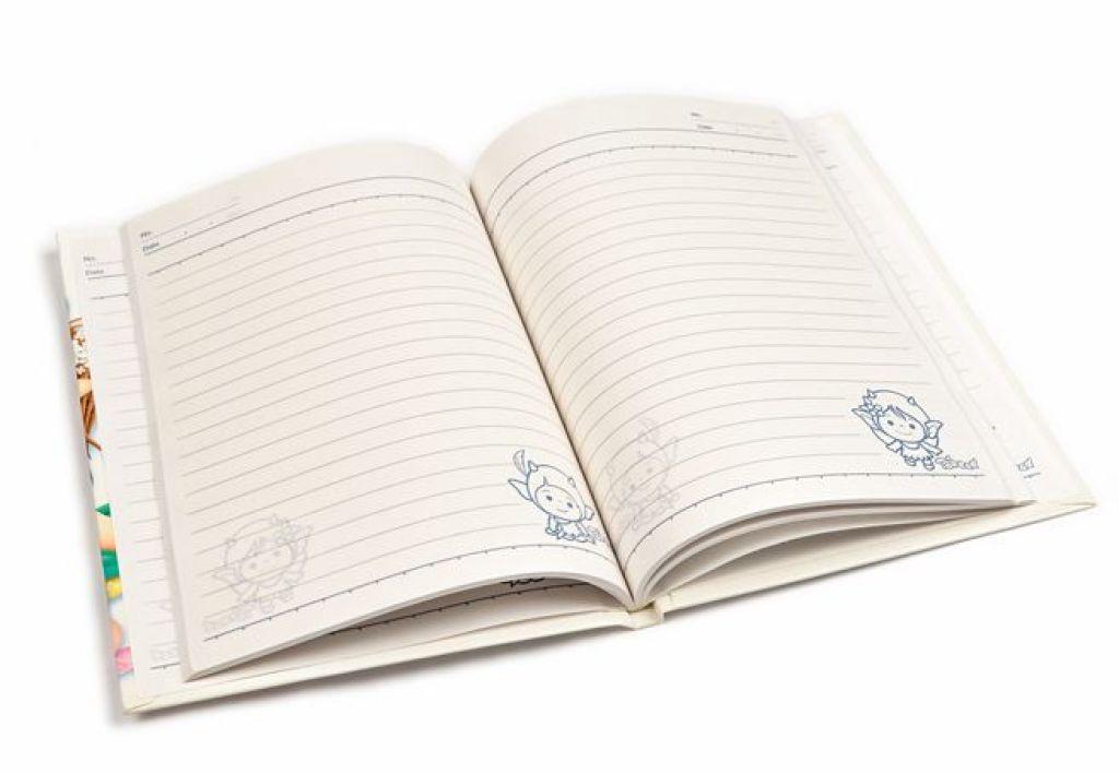 可爱卡通记事本定制笔记本批发