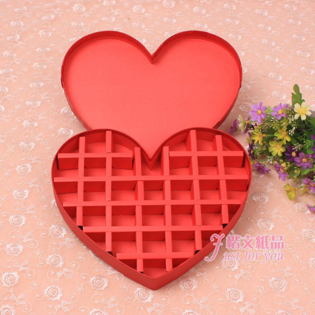 费罗列巧克力盒高档创意包装盒心形礼品盒图片