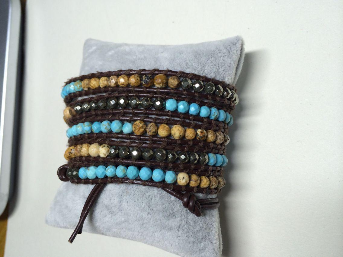 Nicole gioielli, perle di cuoio, bracciali fatti a mano. Un posto tutto l'anno