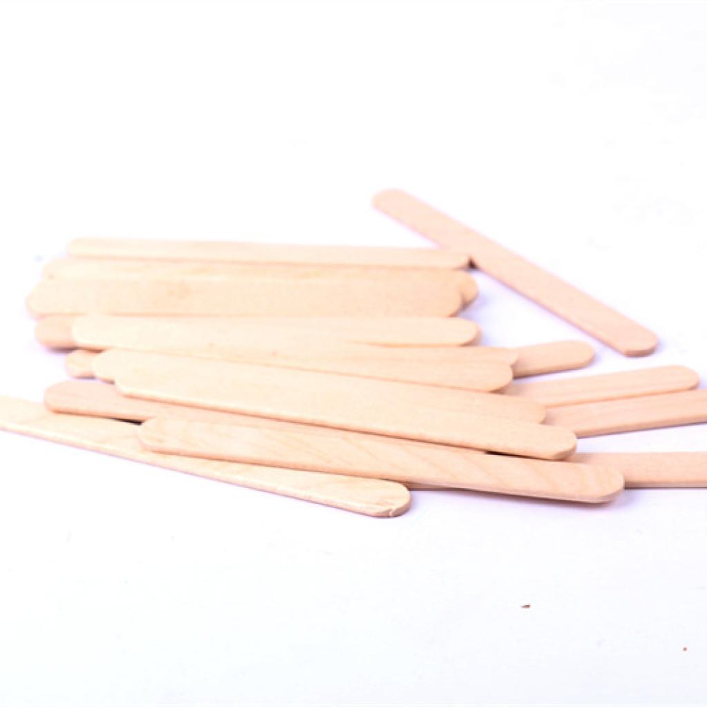 93面曲 雪糕棒木棍 手工diy材料木条冰棍棒圆木棒
